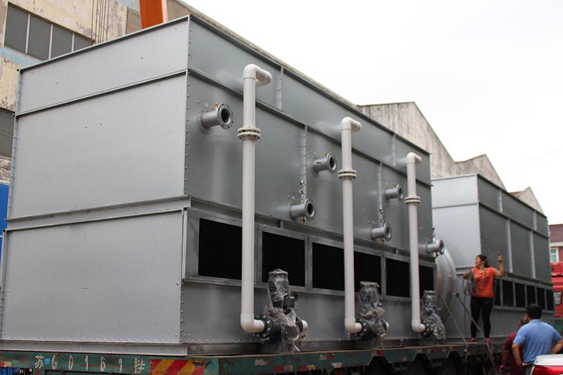 石墨炉闭式冷却塔