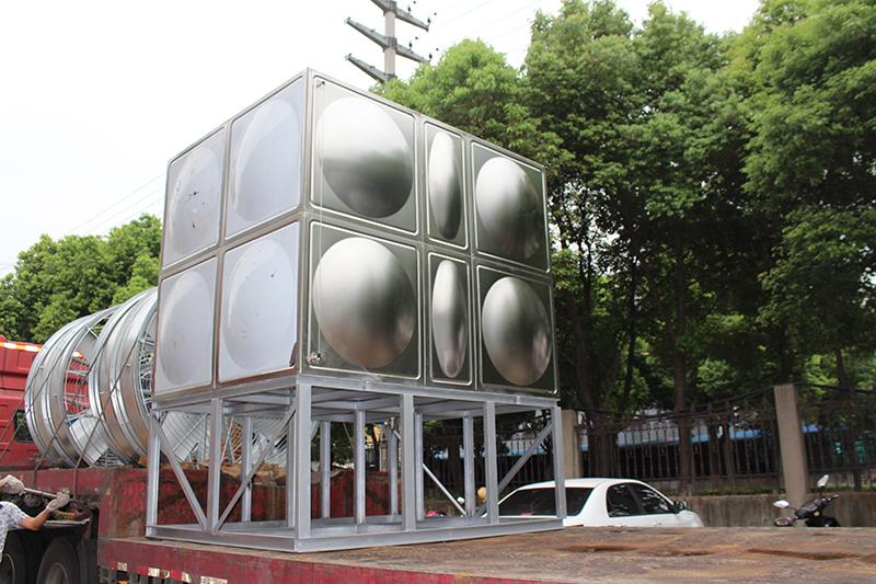 横流闭式冷却塔包装运输