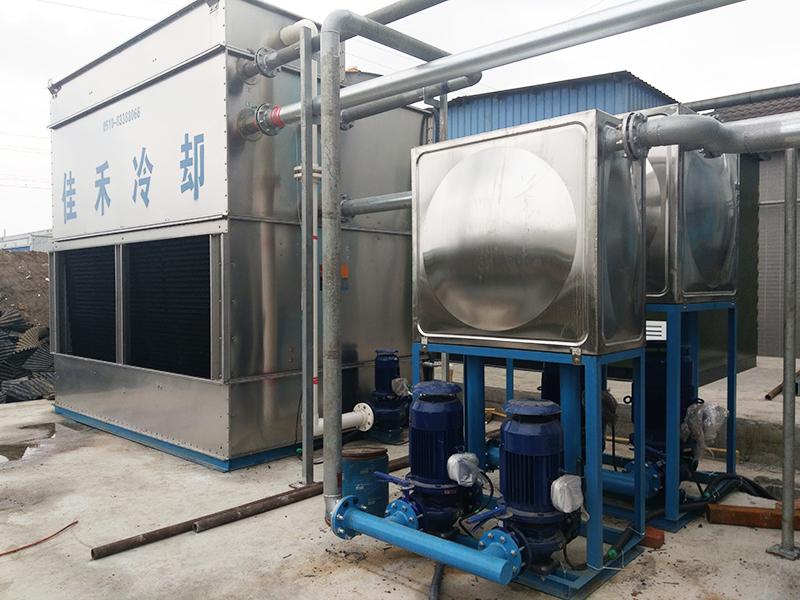 中频熔炼炉专用闭式冷却塔