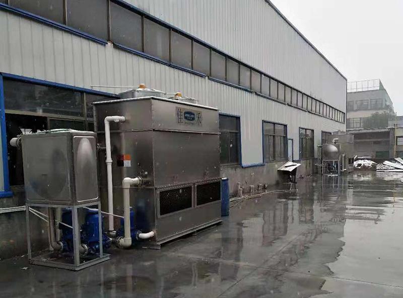 汽车零部件行业用闭式冷却塔