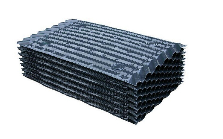 关于闭式冷却塔填料中怎么识别PVC原生料与再生料间的不同