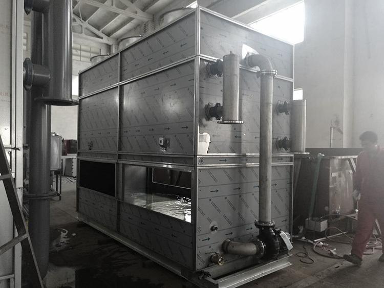 如何解决闭式冷却塔水温升高