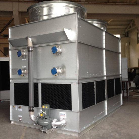 闭式冷却塔水箱该如何装配?