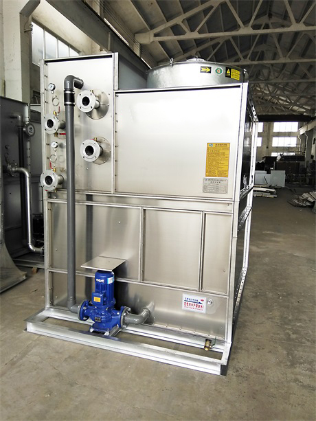 如何解决闭式冷却塔工作室出现的噪音故障