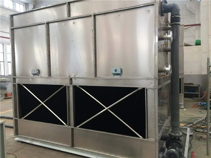 逆流闭式冷却塔是由哪些材质构成的