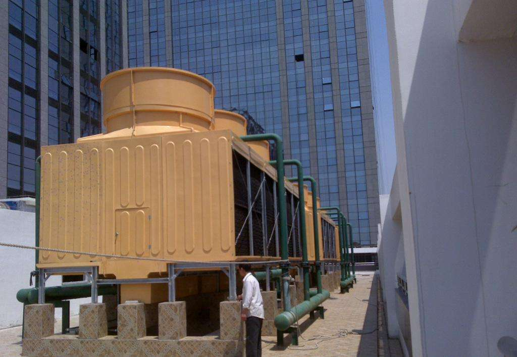 什么是干湿式冷却塔?