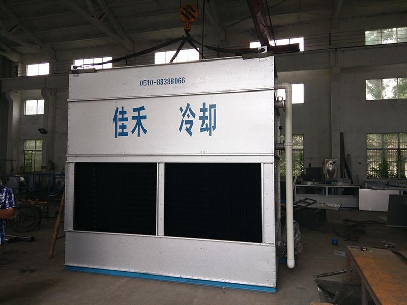 封闭式冷却塔是如何完成自动除垢的