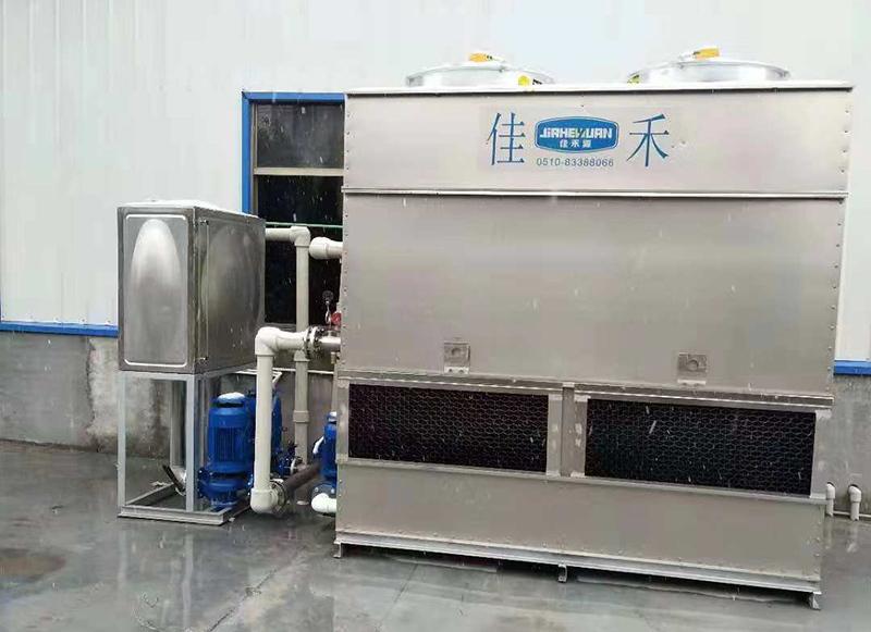 如何处理闭式冷却塔水温不正常的问题