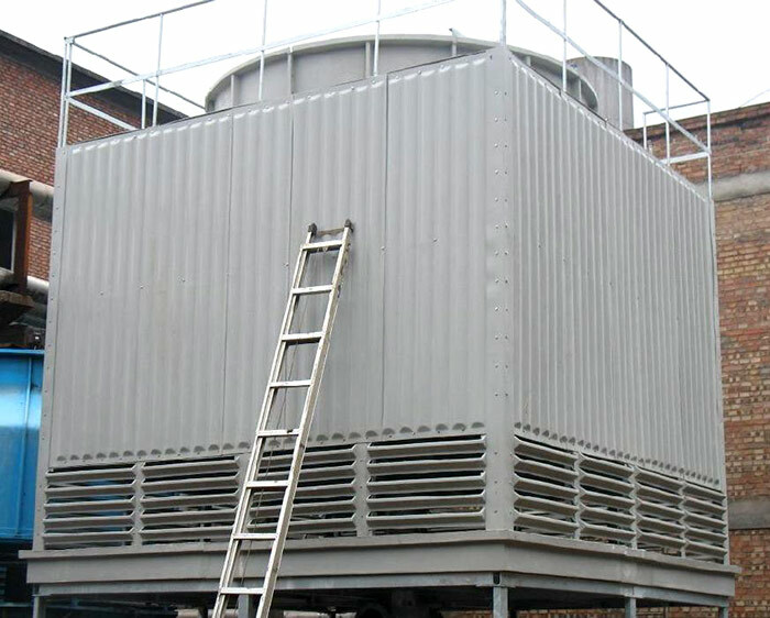 玻璃钢冷却塔的冷却原理是什么