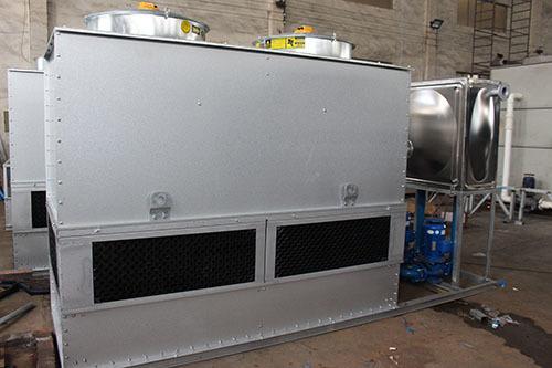 闭式冷却塔冷水机组的压力过高怎么办
