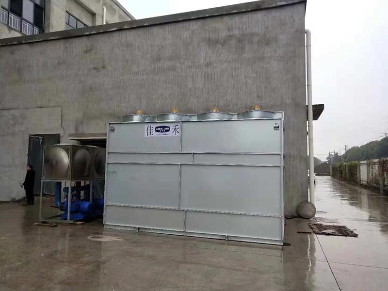 闭式冷却塔的耗能情况