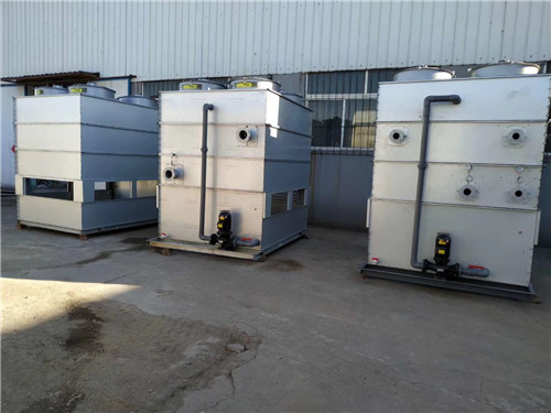 逆流式闭式冷却塔有哪些组成配件