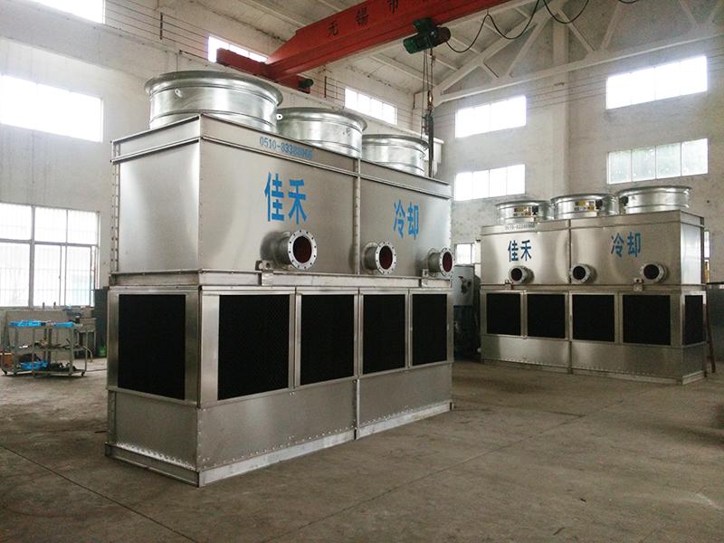 闭式冷却塔的冷却效果