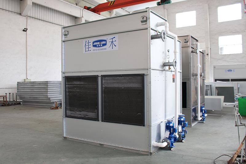 横流式闭式冷却塔(镀铝锌钢板面板)