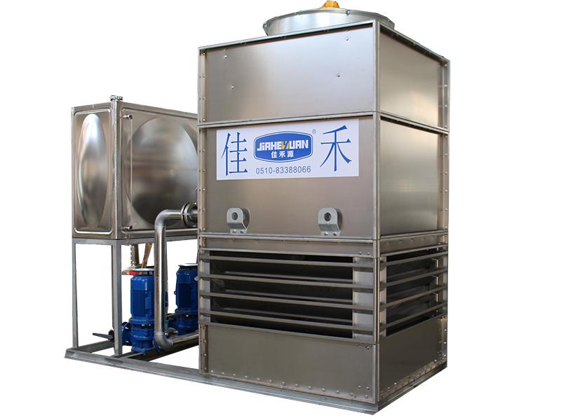 闭式冷却塔的湿球温度和露点温度